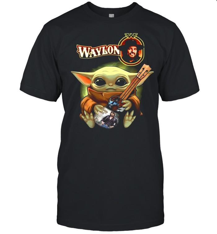 Baby Yoda Hug Waylon 2021 shirt Classic Men's T-shirt