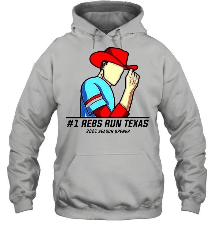 #1 Reps Run Texas 2021 Season Opener shirt Unisex Hoodie