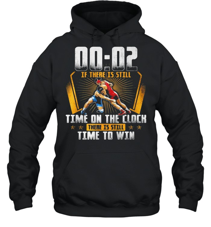 00 - 02 Of There Is Still Time On The Clock There Is Still Time To Win  Unisex Hoodie