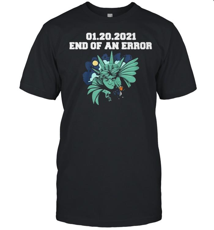 01.20.2021 End Of An Error  Classic Men's T-shirt