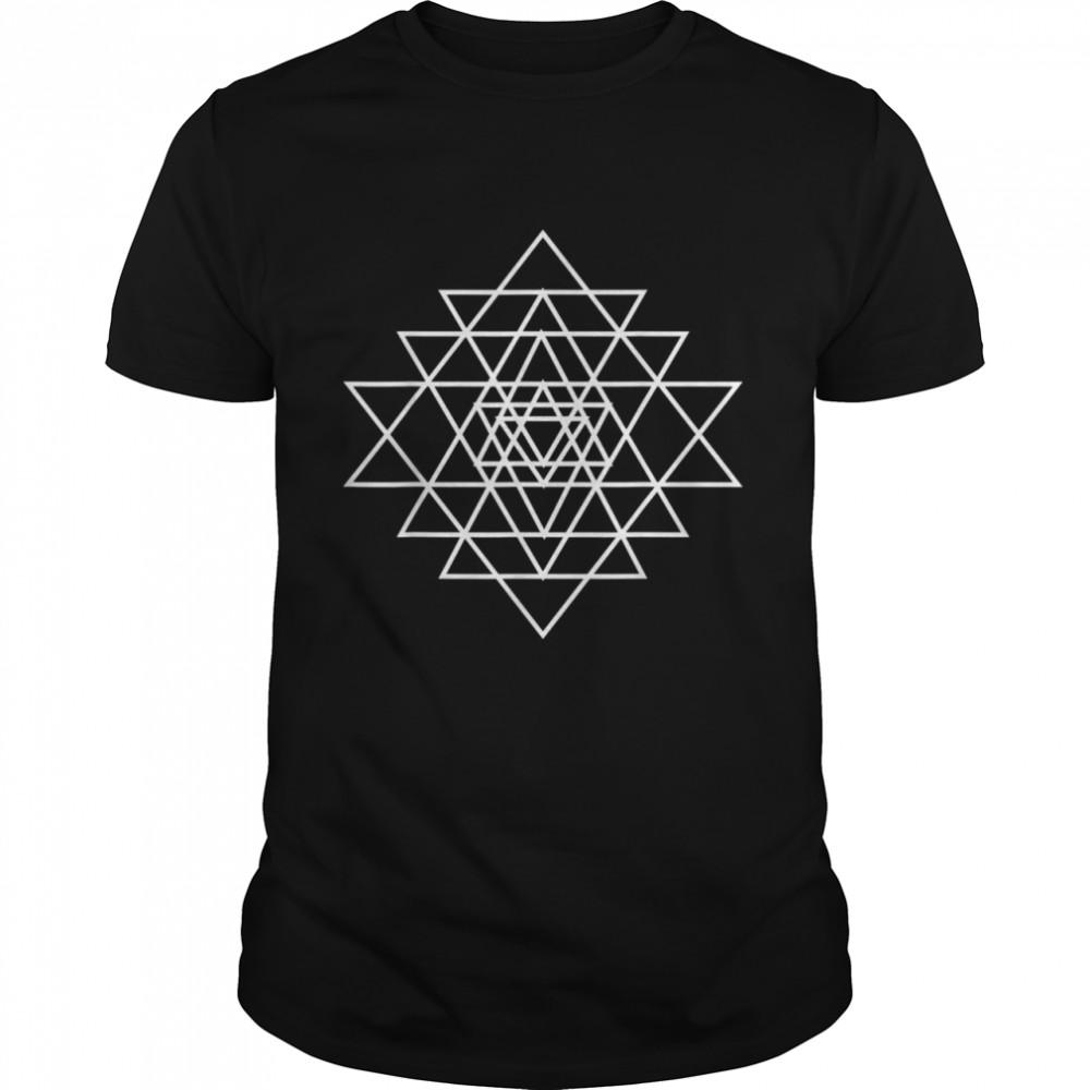 Yoga Vibration Om Meditation shirt Classic Men's T-shirt