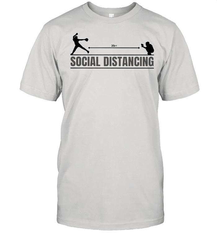 35ft Social Distancing Baseball shirt Classic Men's T-shirt