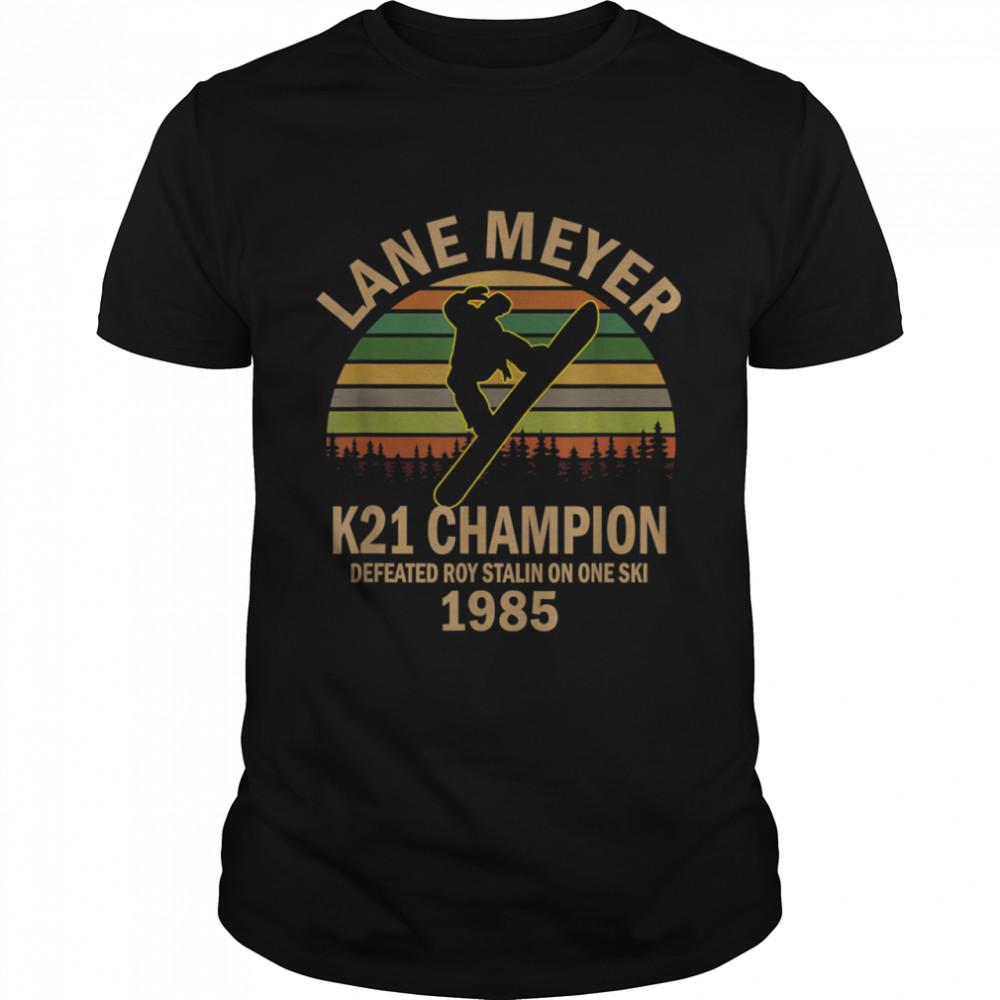 Lane meyer K12 Vintage Retro shirt Classic Men's T-shirt