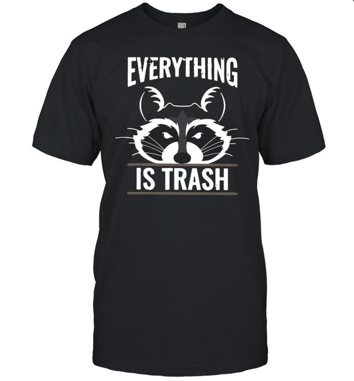 Raccoons Everything Is Trash shirt Classic Men's T-shirt