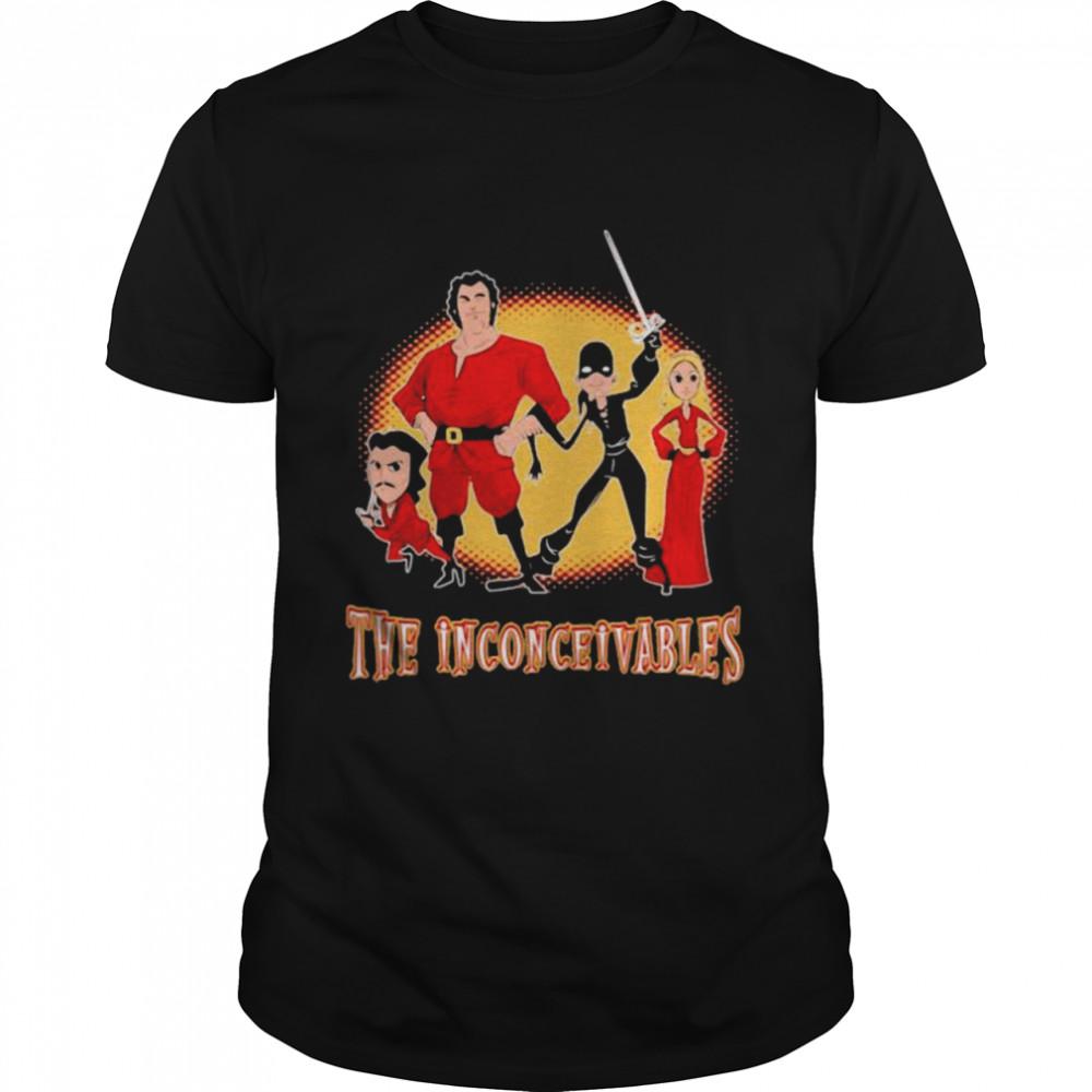 The Inconceivables Superhero  Classic Men's T-shirt