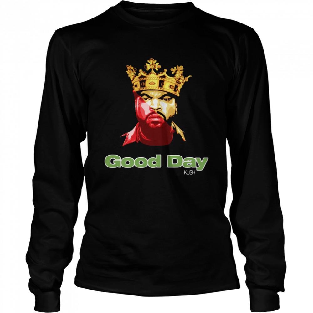 Ice Cube Rap King Good Day shirt Long Sleeved T-shirt