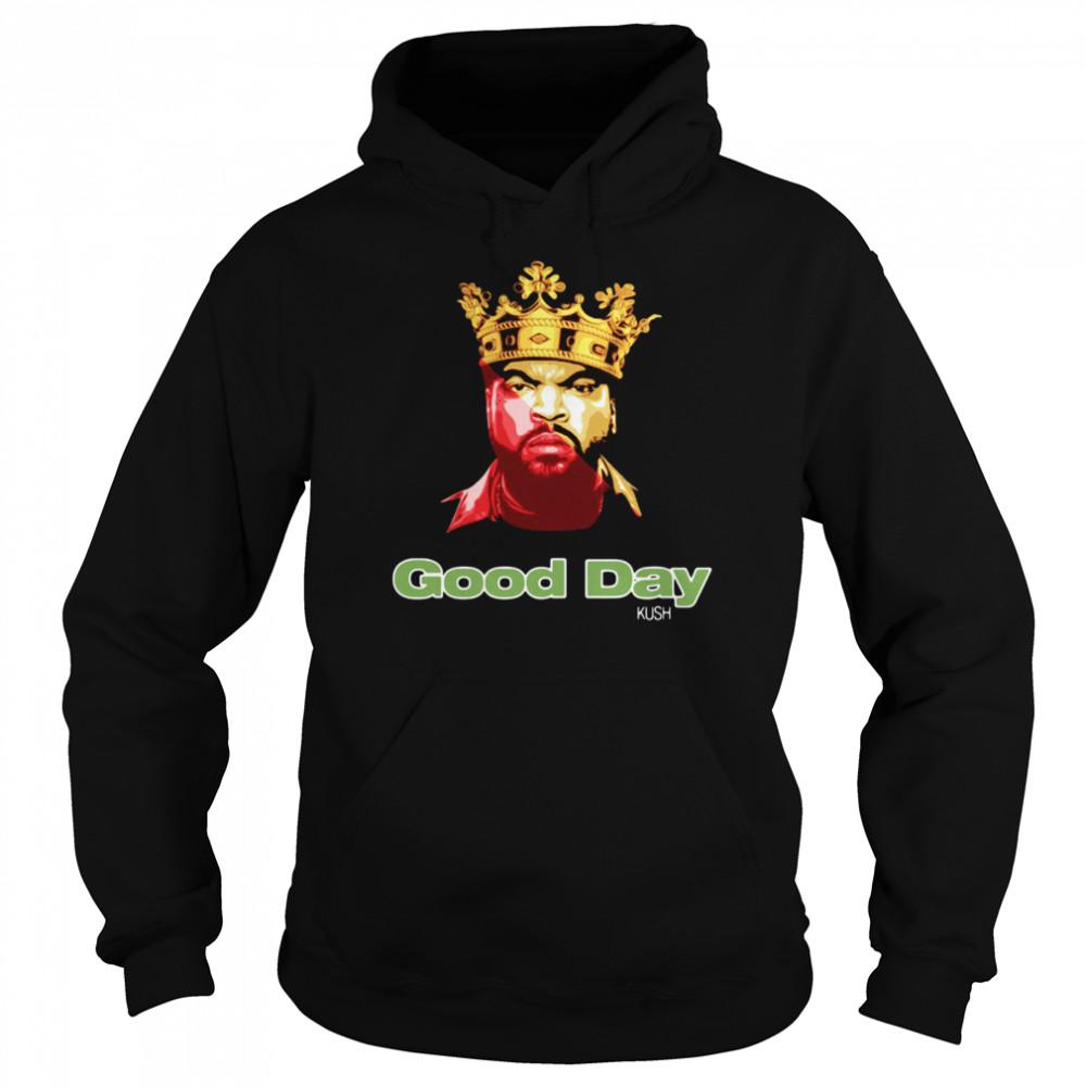 Ice Cube Rap King Good Day shirt Unisex Hoodie