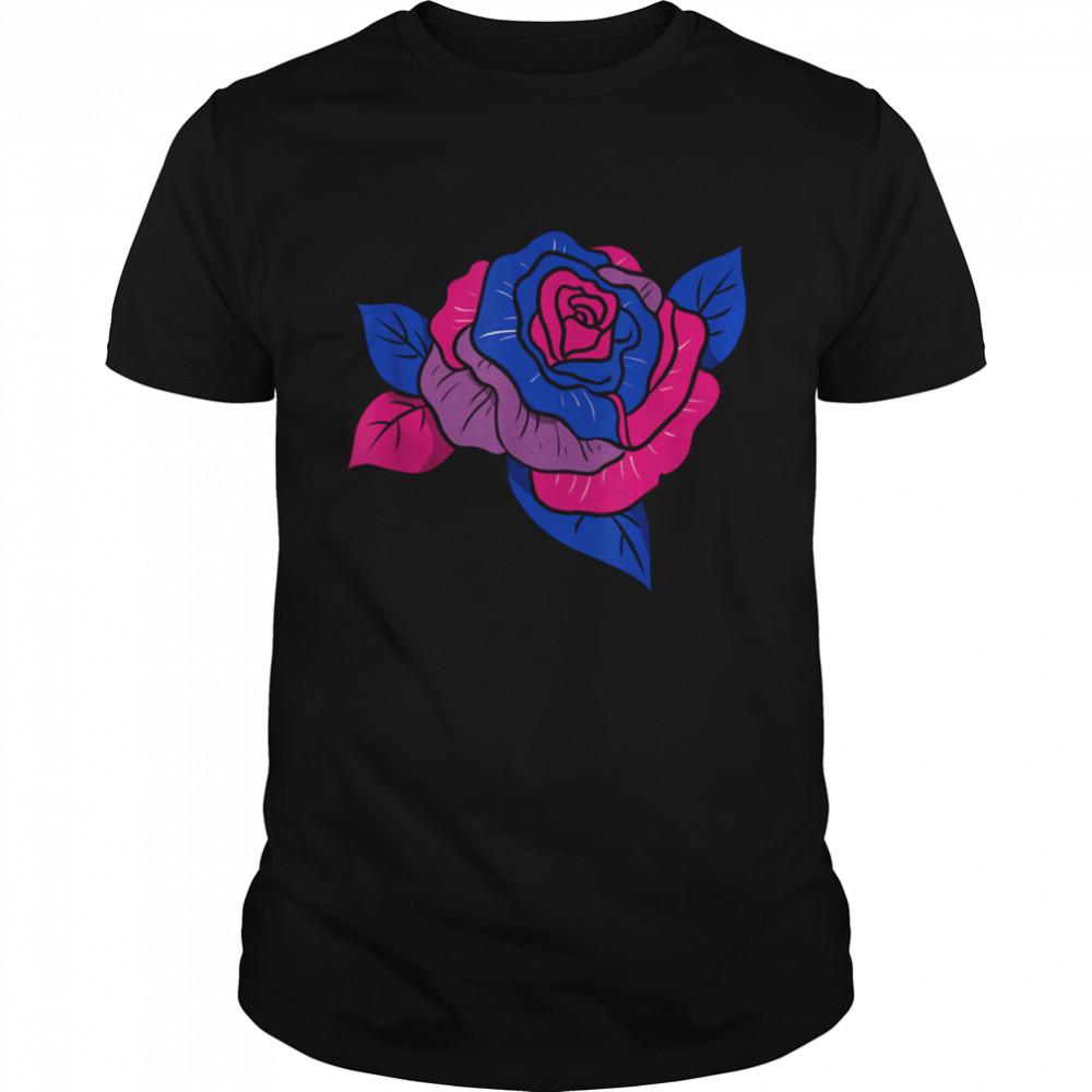 Bisexual Pride Rose Bisexual  Classic Men's T-shirt