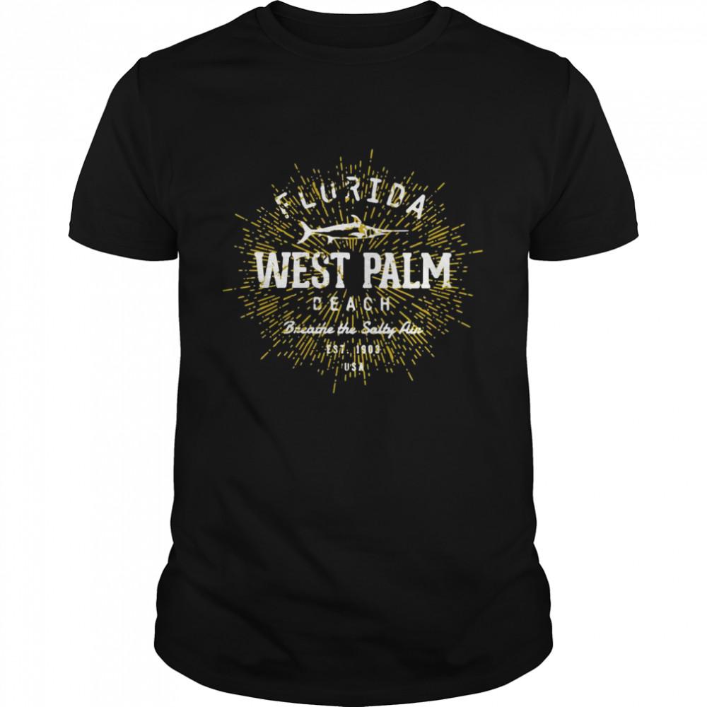 West Palm Beach Pullover Vintage T-shirt Classic Men's T-shirt
