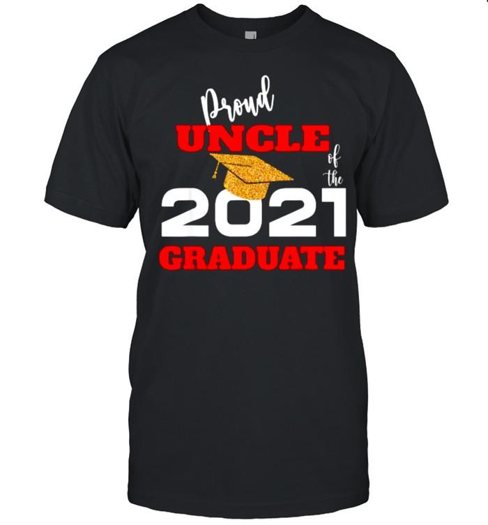 Proud Uncle Of the 2021 Graduate  Classic Men's T-shirt